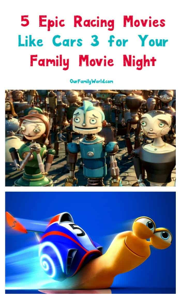 Looking for more fast-paced family movies like Cars 3? Check out 5 more fabulous flicks that we love to watch together!