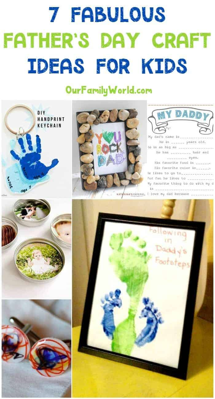 These Father's Day craft ideas are perfect for making with the whole family! You can even include dad himself for a special holiday activity! Check them out!