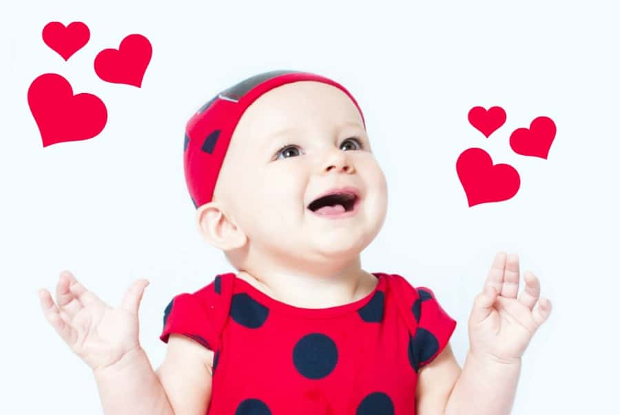 """How sweet are these 16 baby names that mean """"love"""" in different languages?"""