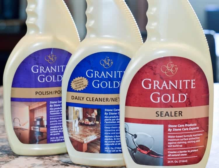 Breathe new life into your natural stone countertops in just three steps! Check out our Granite Gold review to find out how!
