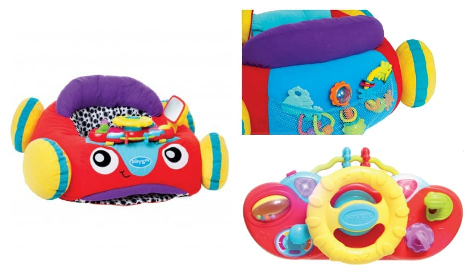 Let your baby ride in style with the Music & Lights Comfy Car from Playgro! Check it out!