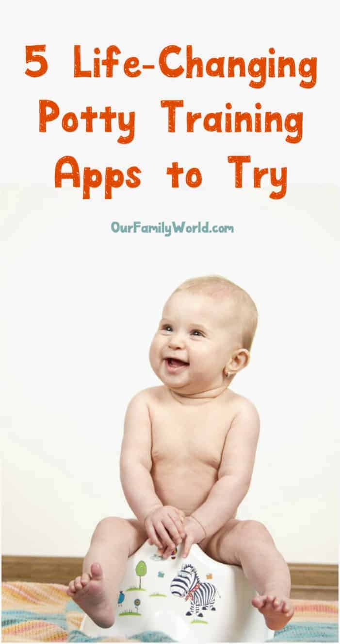 Potty training? Yep, there's an app for that! Actually, there are tons of them! We sorted through the clutter and found the best 5 potty training apps you need to try!