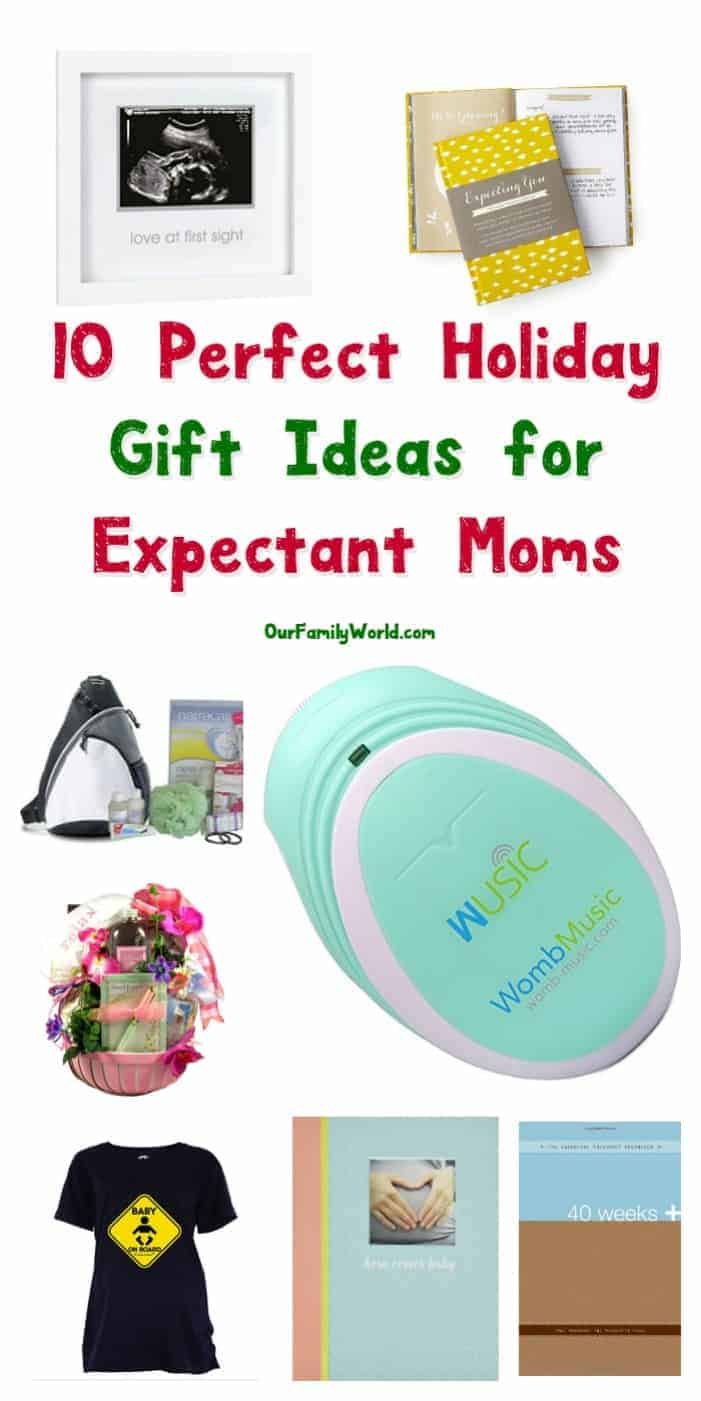 Looking for a few great Christmas gift ideas for expectant moms? Check out ten outstanding gifts that she'll absolutely cherish!
