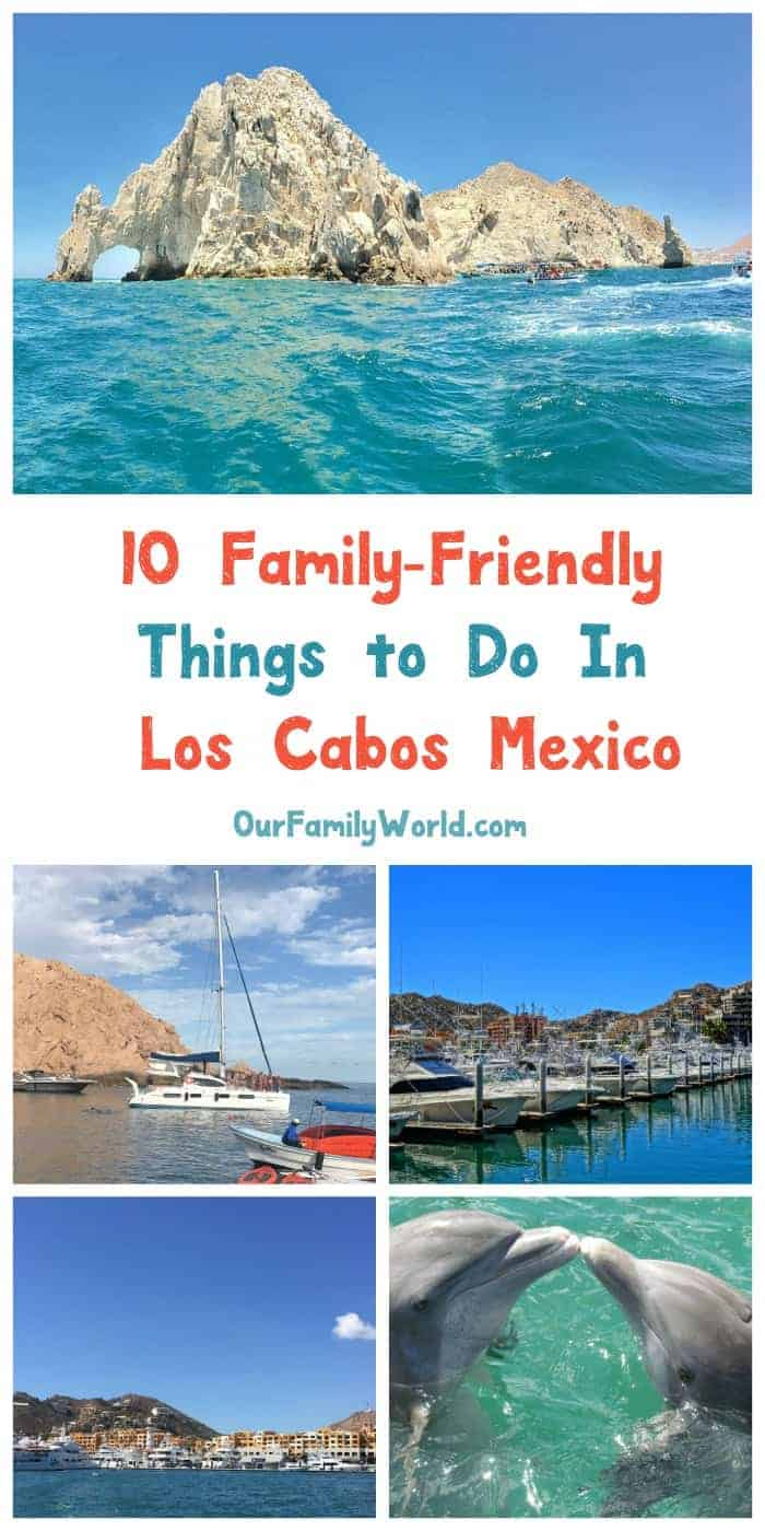Looking for the perfect family-friendly getaway in Mexico? Head to Los Cabos! From swimming with the dolphins to lounging on beaches off the beaten path, it's filled with kid-friendly activities! Let's check out a few of them!