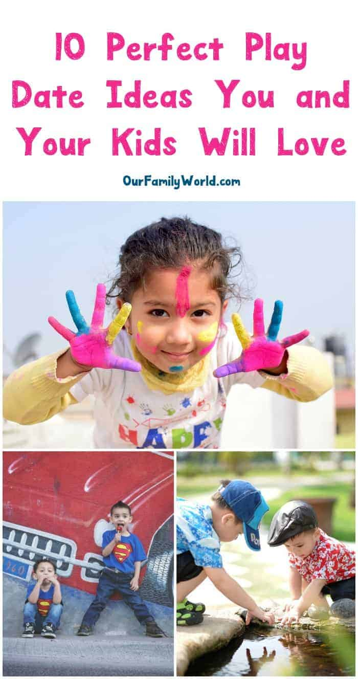 Having a hard time coming up with play date ideas that you AND your kids will love? We've got you covered! Read on for 10 of our all-time favorite ways to keep kids entertained without losing your sanity!