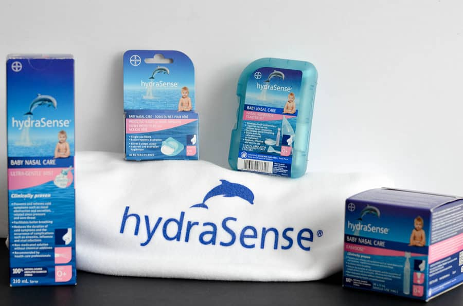 Today, I'm sharing my favorite tips on how to comfort your baby through a cold, including my #1 tip: using hydraSense® Baby Nasal Care! Let's check them out!