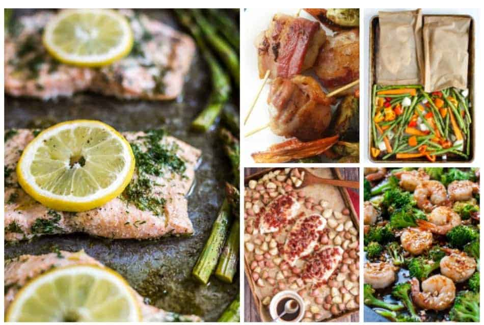 Looking for a few new go-to recipes for those crazy nights? These 16 sheet pan recipes will absolutely change your life! Check them out!