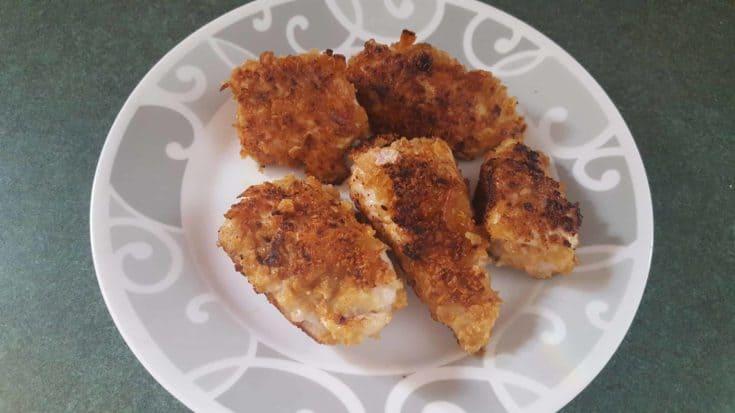 Crispy Fried Onion Chicken Strips