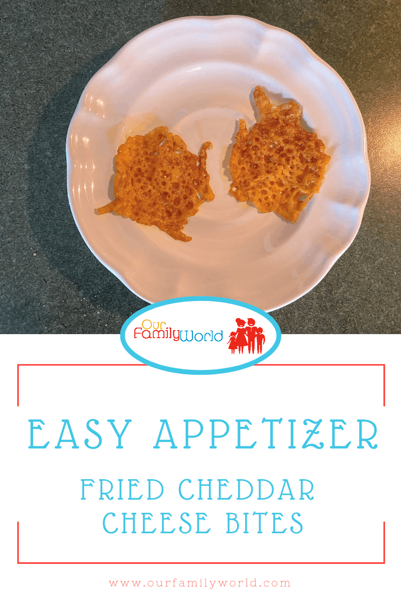Easy Appetizer: Fried Cheddar Cheese Bites