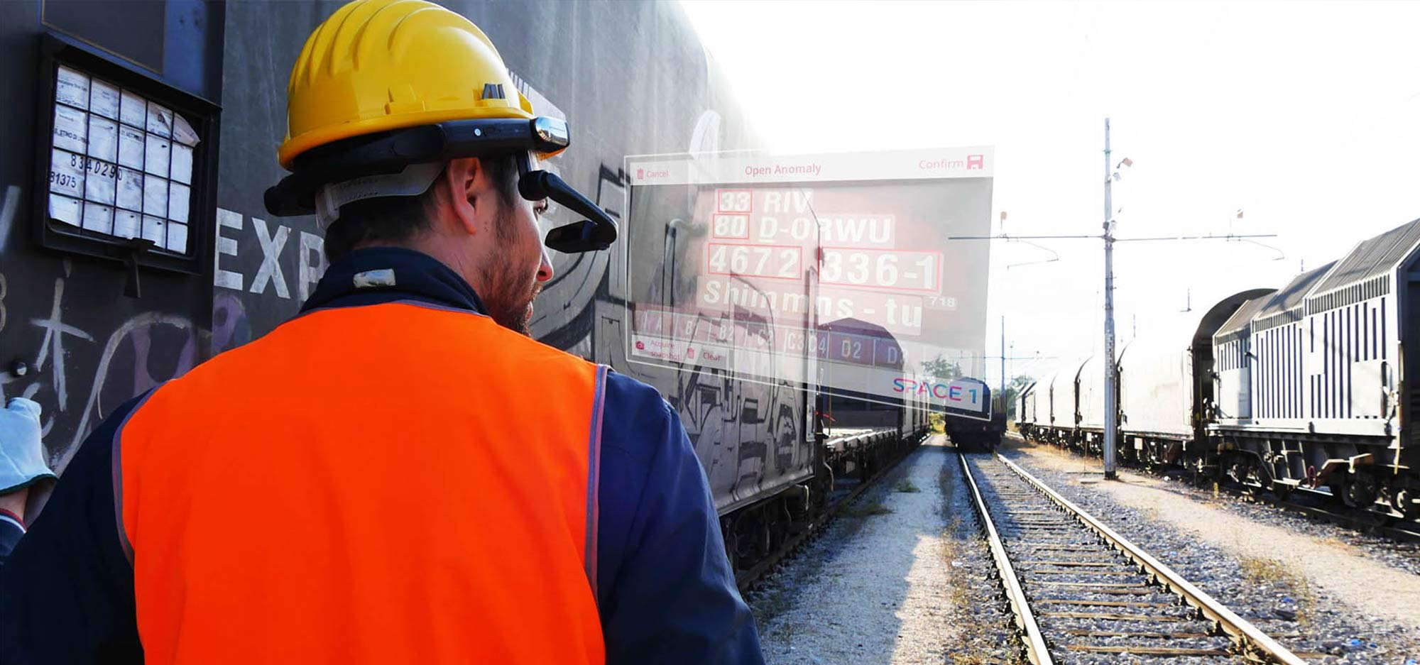 Rail Cargo hands-free inspections