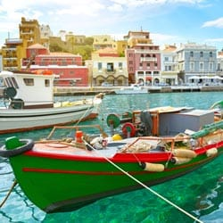 Agios Nikolaos auf Kreta