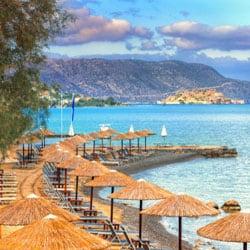 Elounda auf Kreta