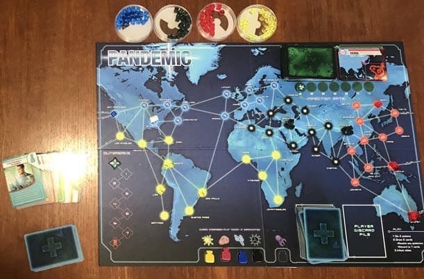 pandemic is a timely board game
