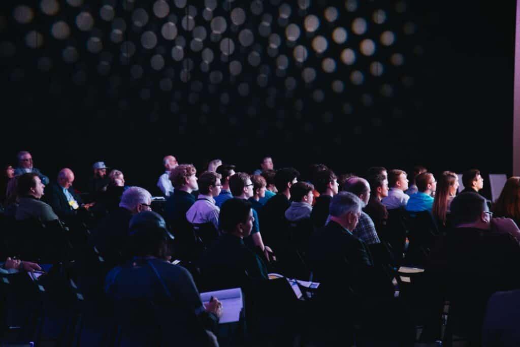 keynote speaker audience