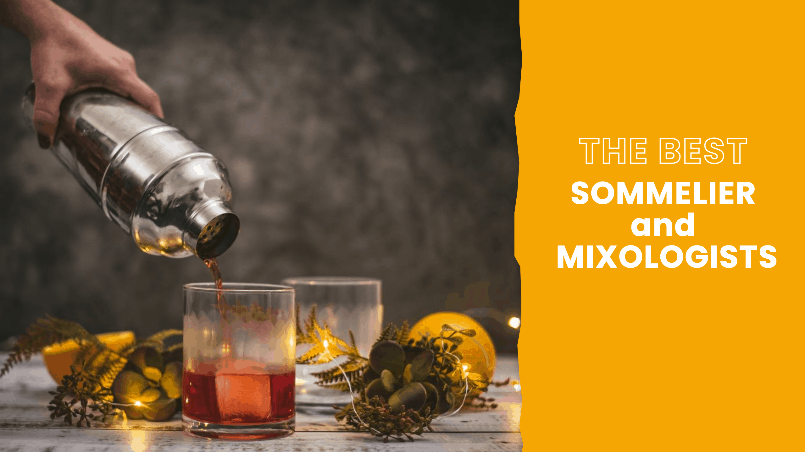 Hire the Best Sommelier and Mixologist for your Virtual Beverage Making
