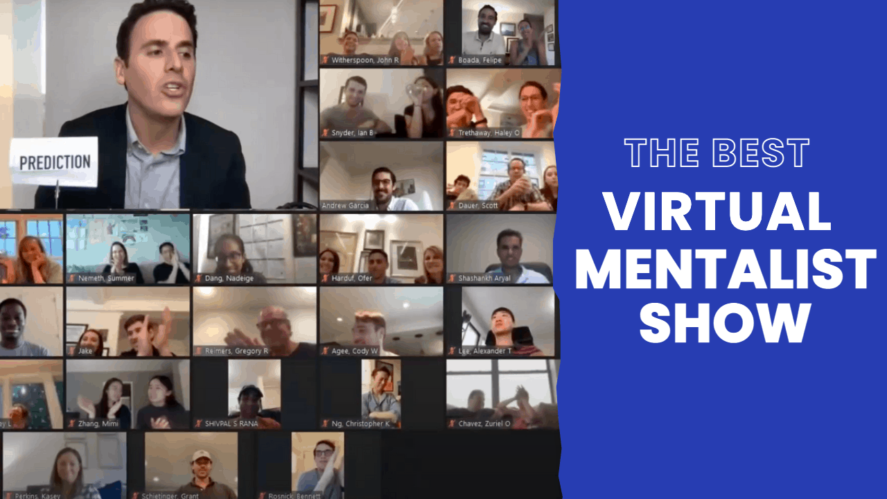 Hire the Best Virtual Mentalist Show