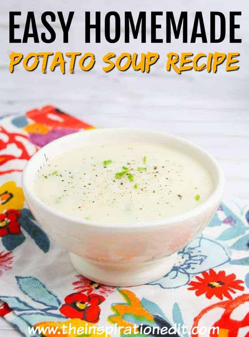 homemade potato soup recipe