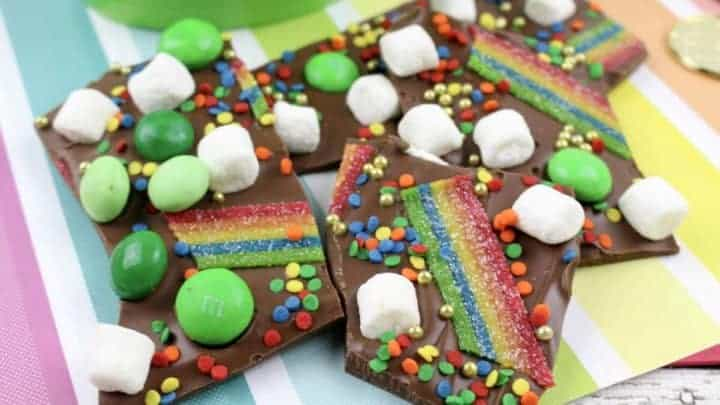 saint patricks day bark recipe