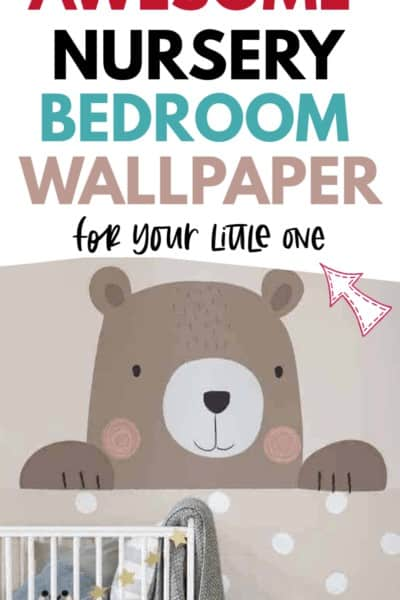 nursery room wallpaper for little ones