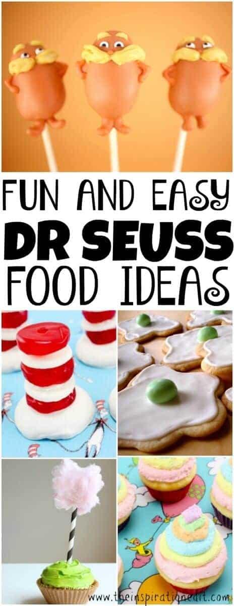 dr seuss food ideas