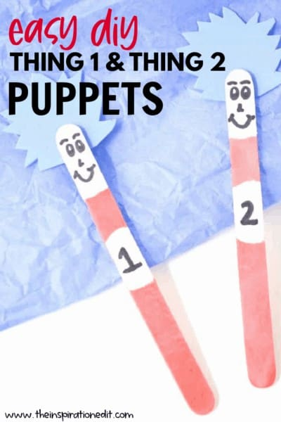 EASY DIY PUPPETS