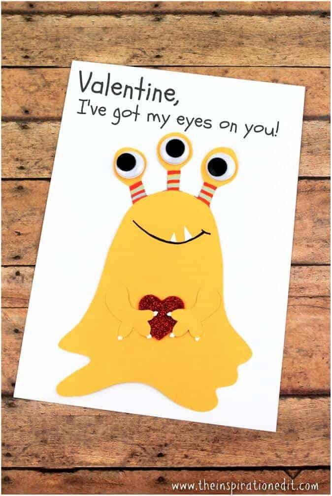 fun valentines card
