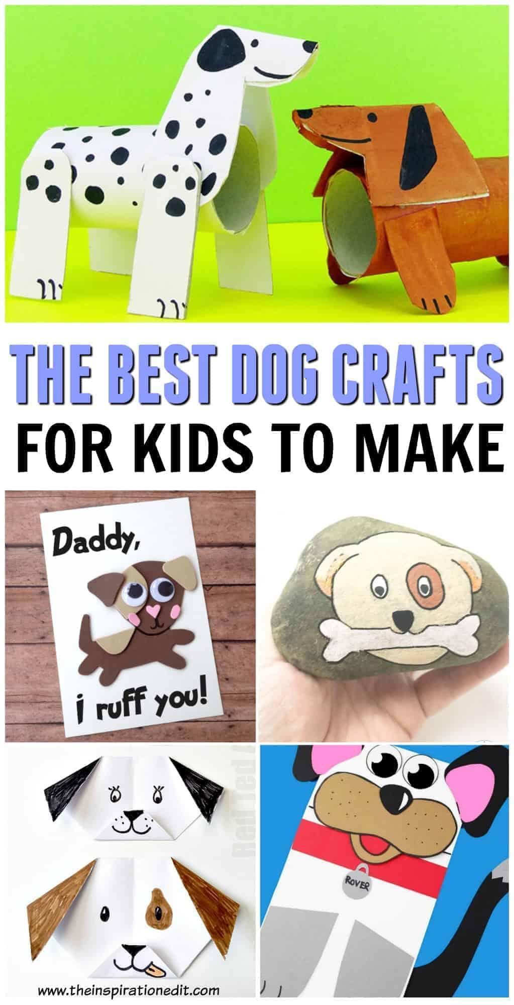 best dog crafts for kids