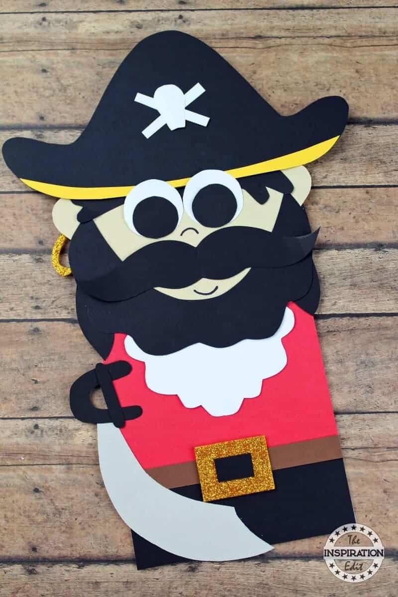pirate paper bag