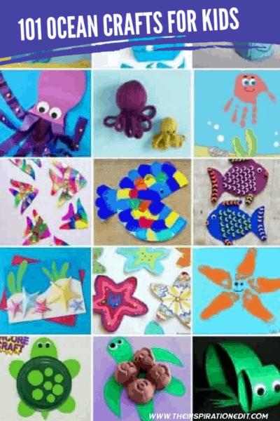 101 OCEAN CRAFTS FOR KIDS