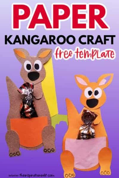 PAPER KANGAROO CRAFT