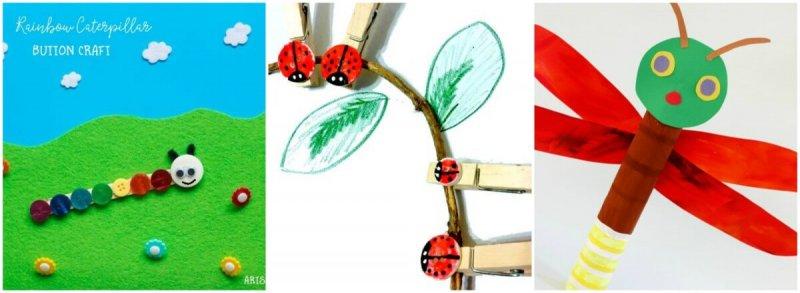 Preschool Bug Crafts