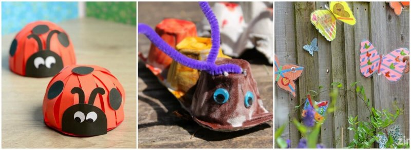51 Preschool Bug Craft kids Will Love