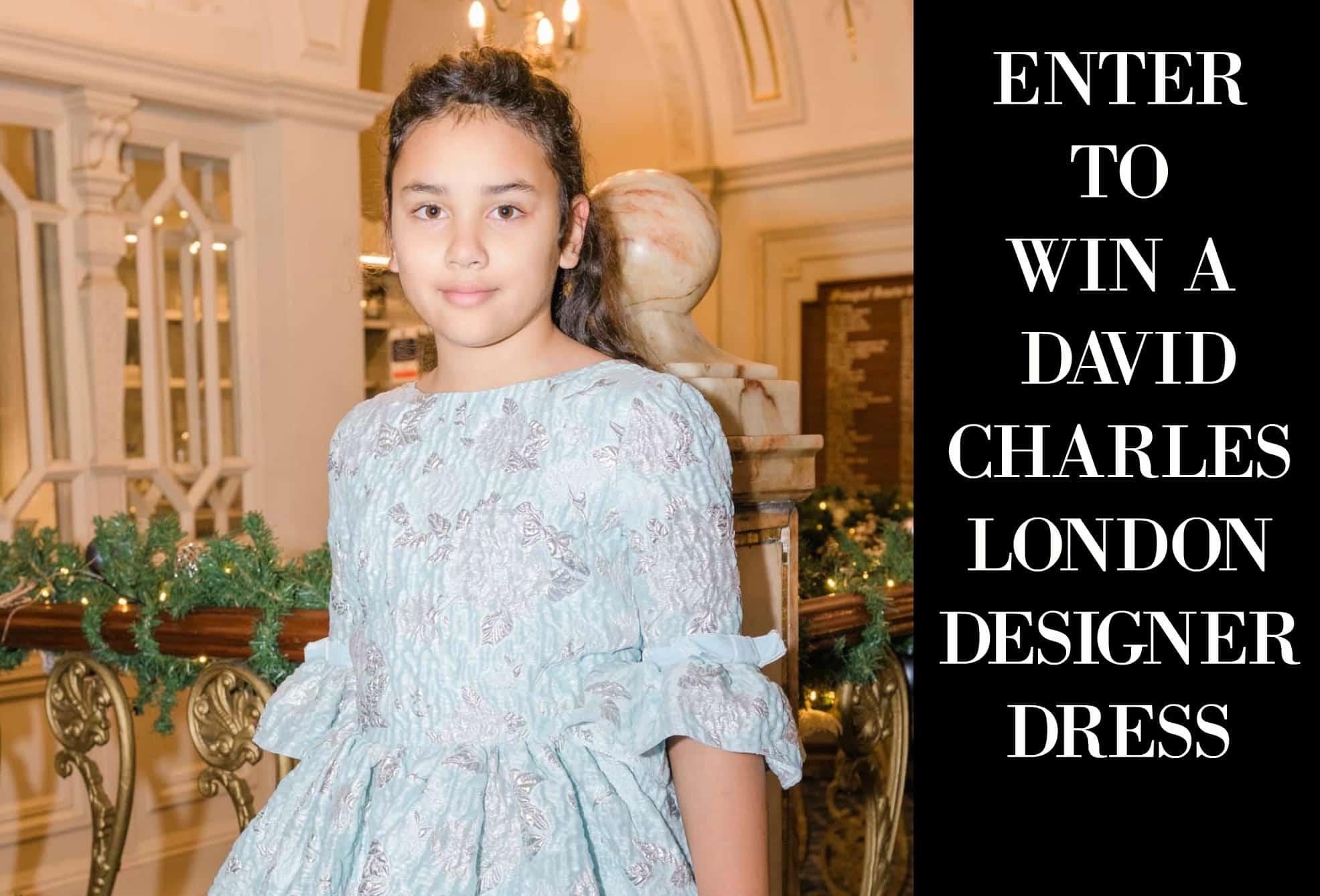 David Charles London Opera Gown