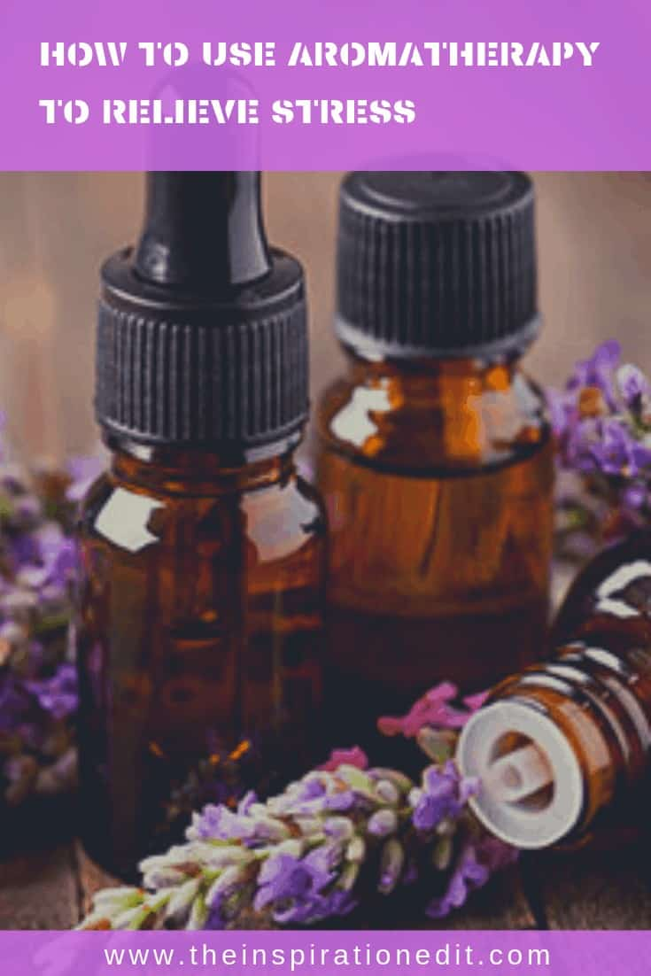 how to relieve stress with aromatherapy