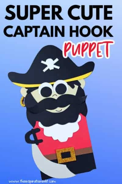 CAPTAIN HOOK paper bag craft