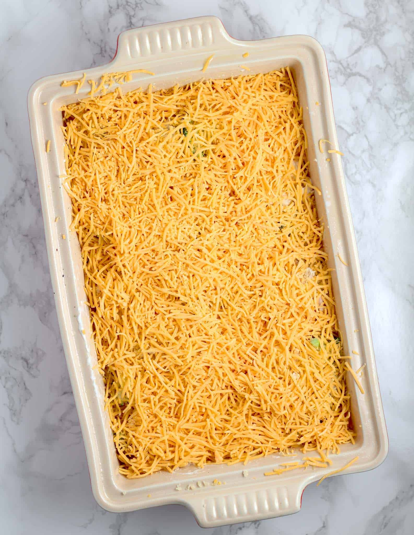 adding cheese to this low carb chicken casserole recipe