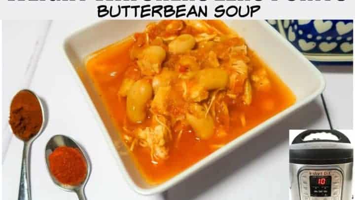 weight watchers butterbean soup