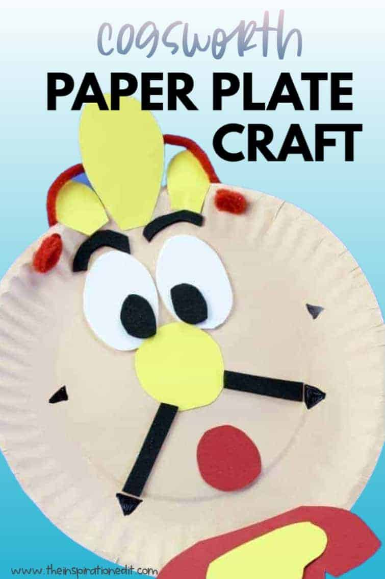 COGSWORTH disney paper plate craft