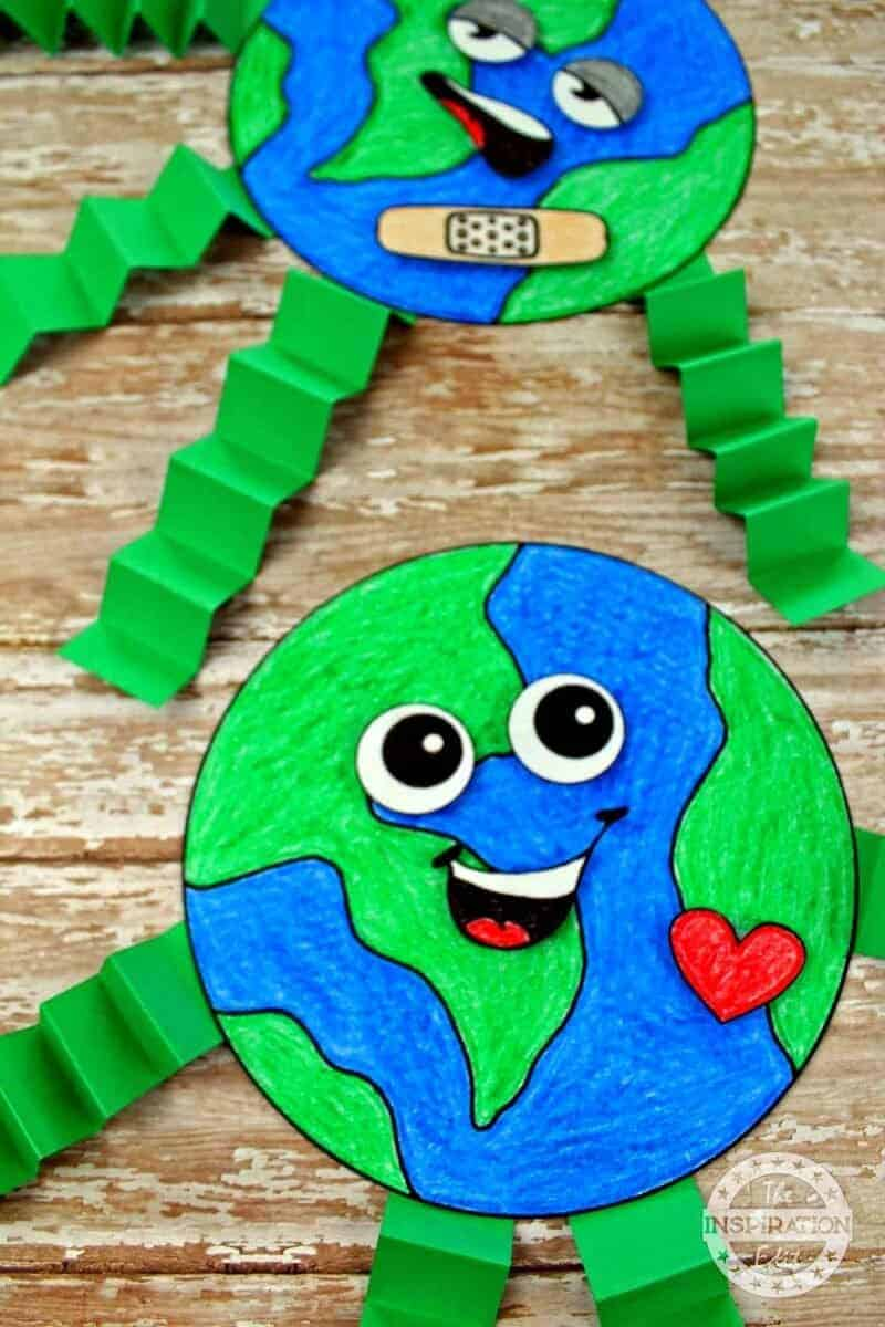 Earth Day Craft earth day activity for preschool kids