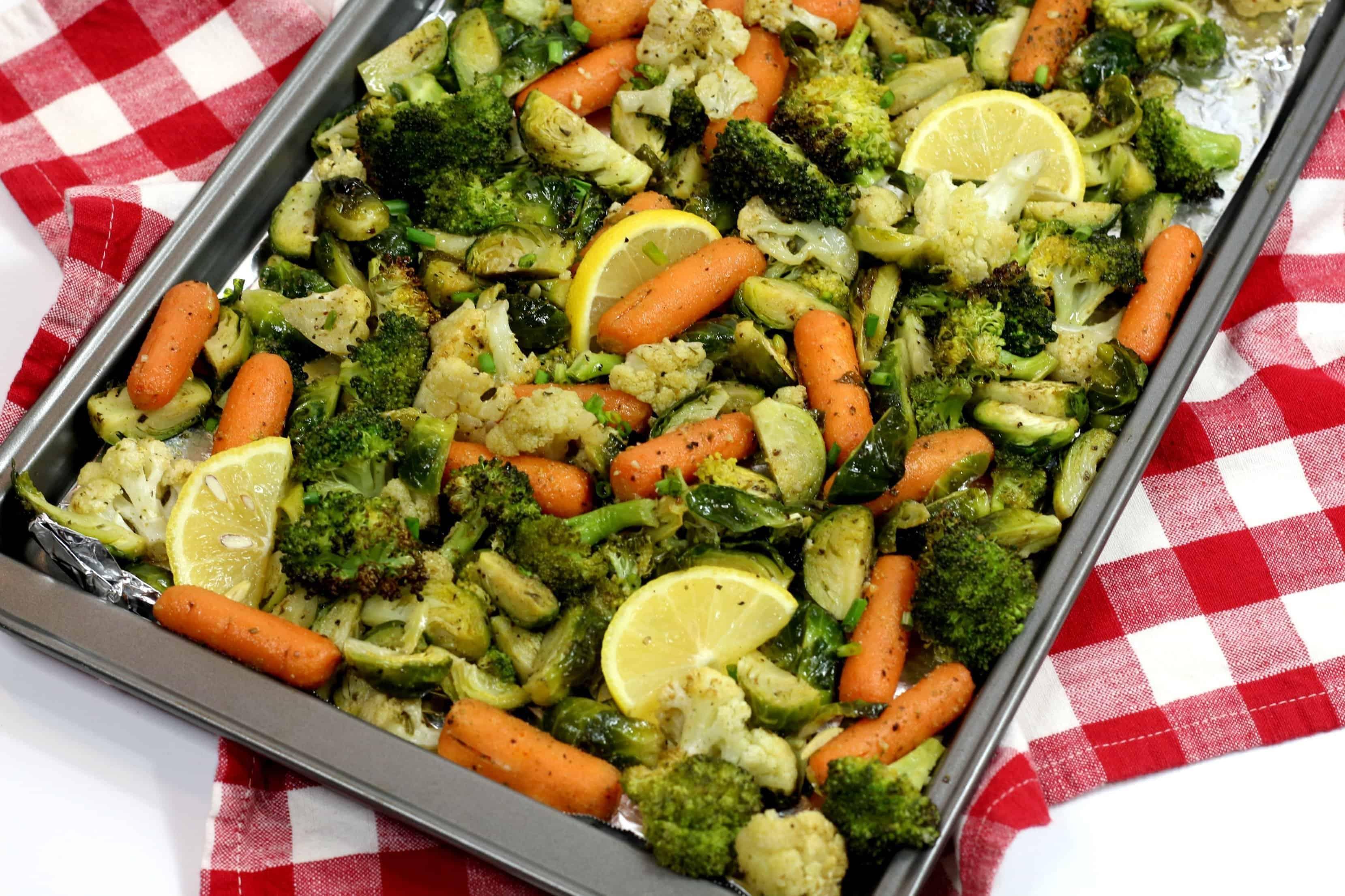 pan roasted vegetables