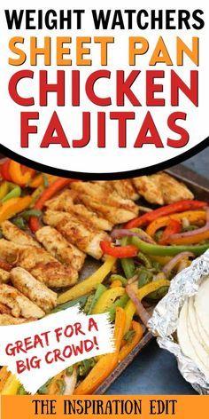 weight watchers chicken fajitas recipe