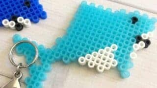 hama bead shark and hama bead ideas