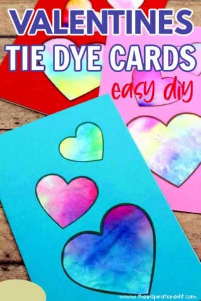 VALENTINES TIE DYE CARDS