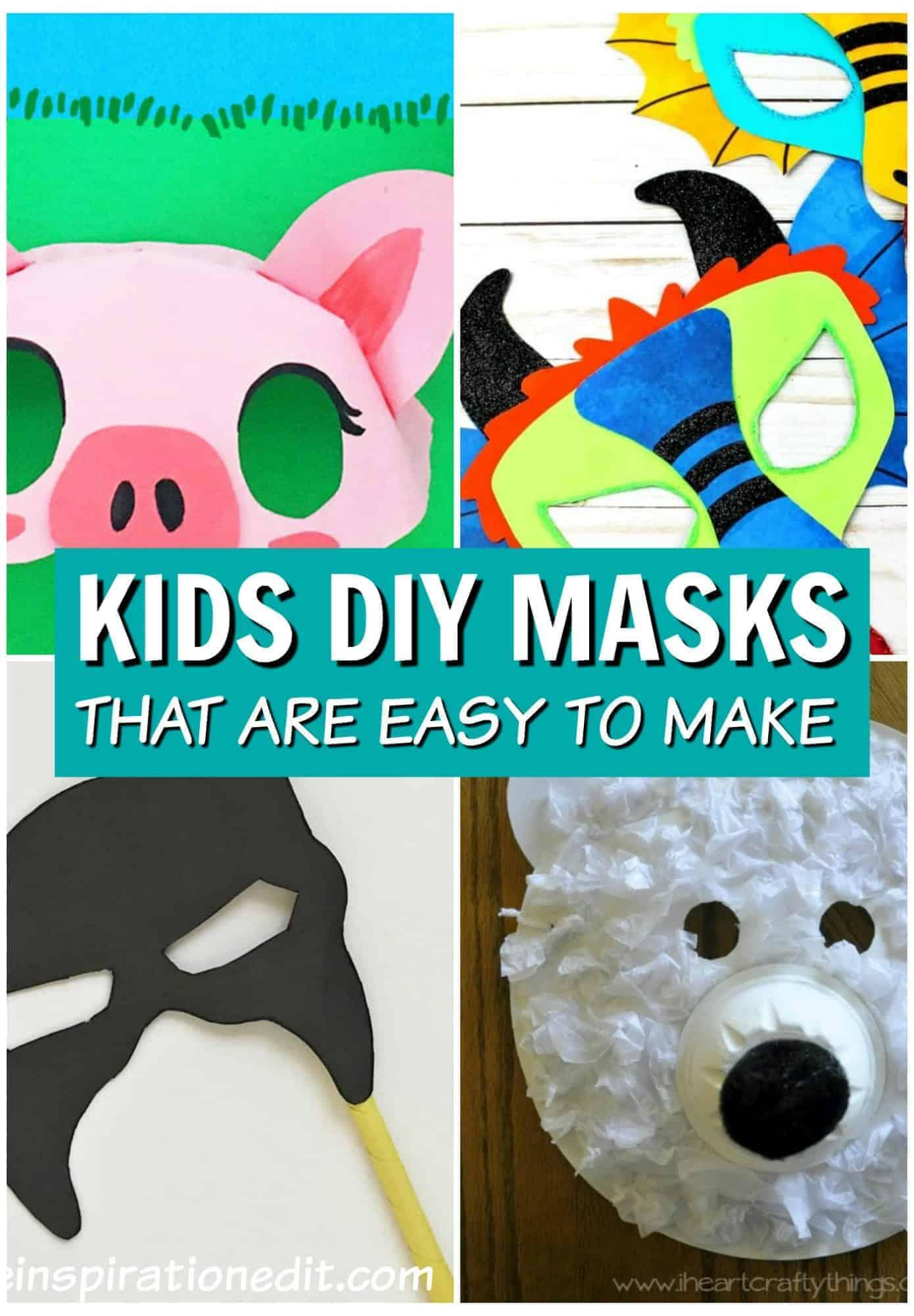 kids diy masks