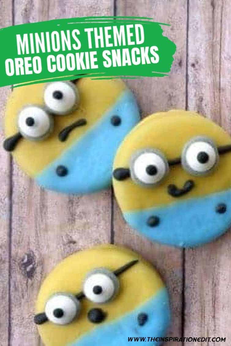 minion oreo cookies