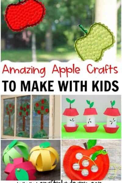 apple-CRAFTS FOR KIDS