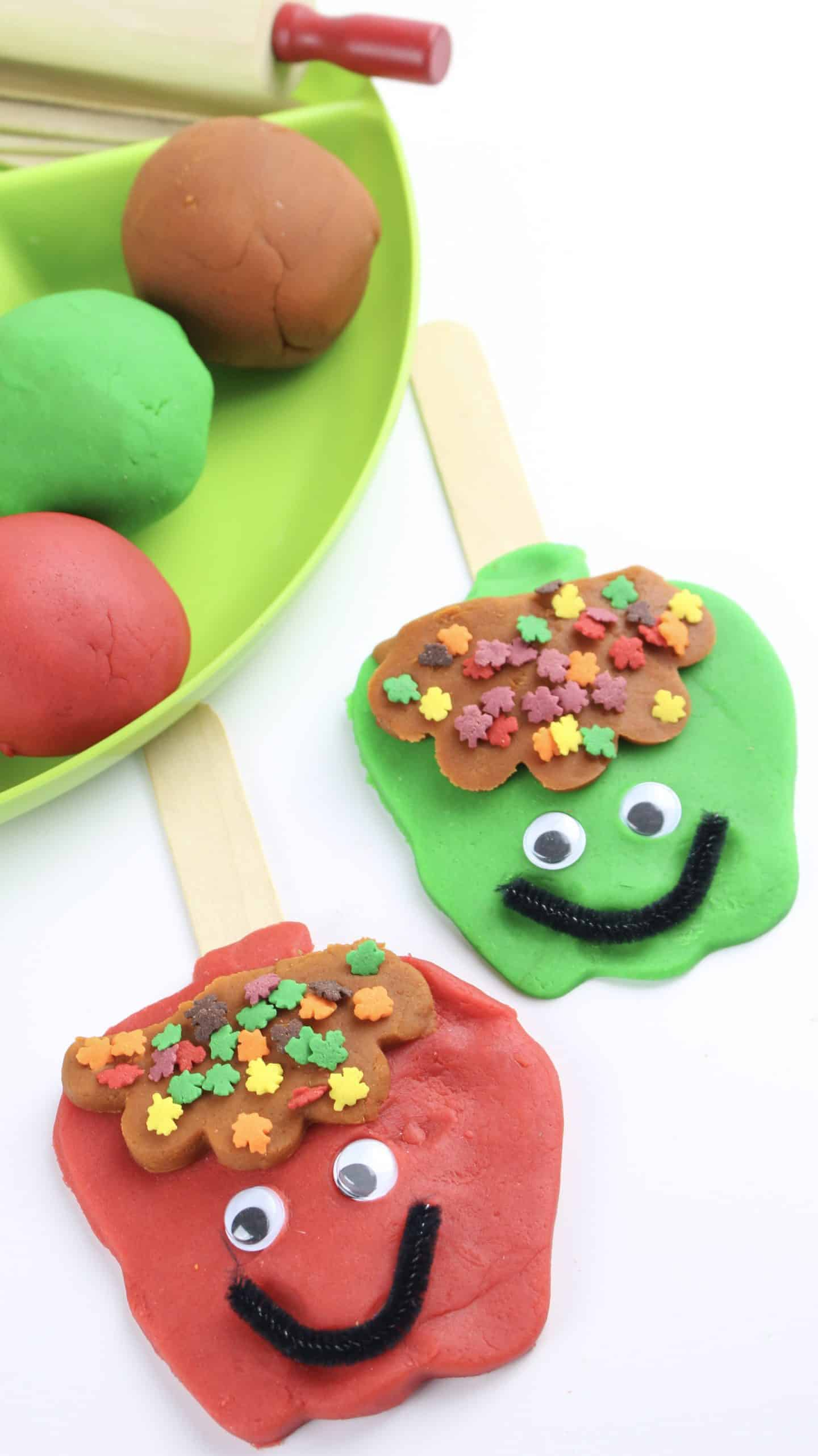 Easy Playdough Recipe Caramel And Apple The Inspiration Edit