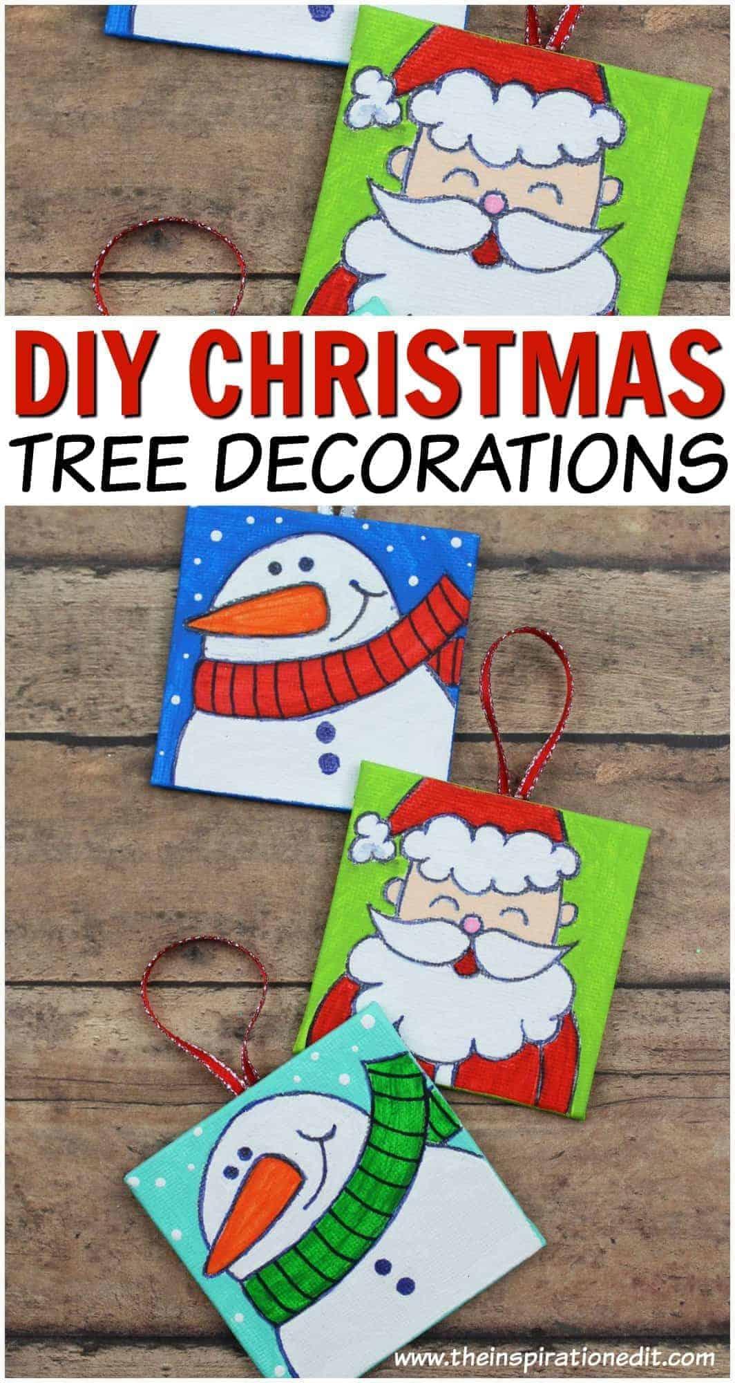 DIY Christmas Tree Decorations