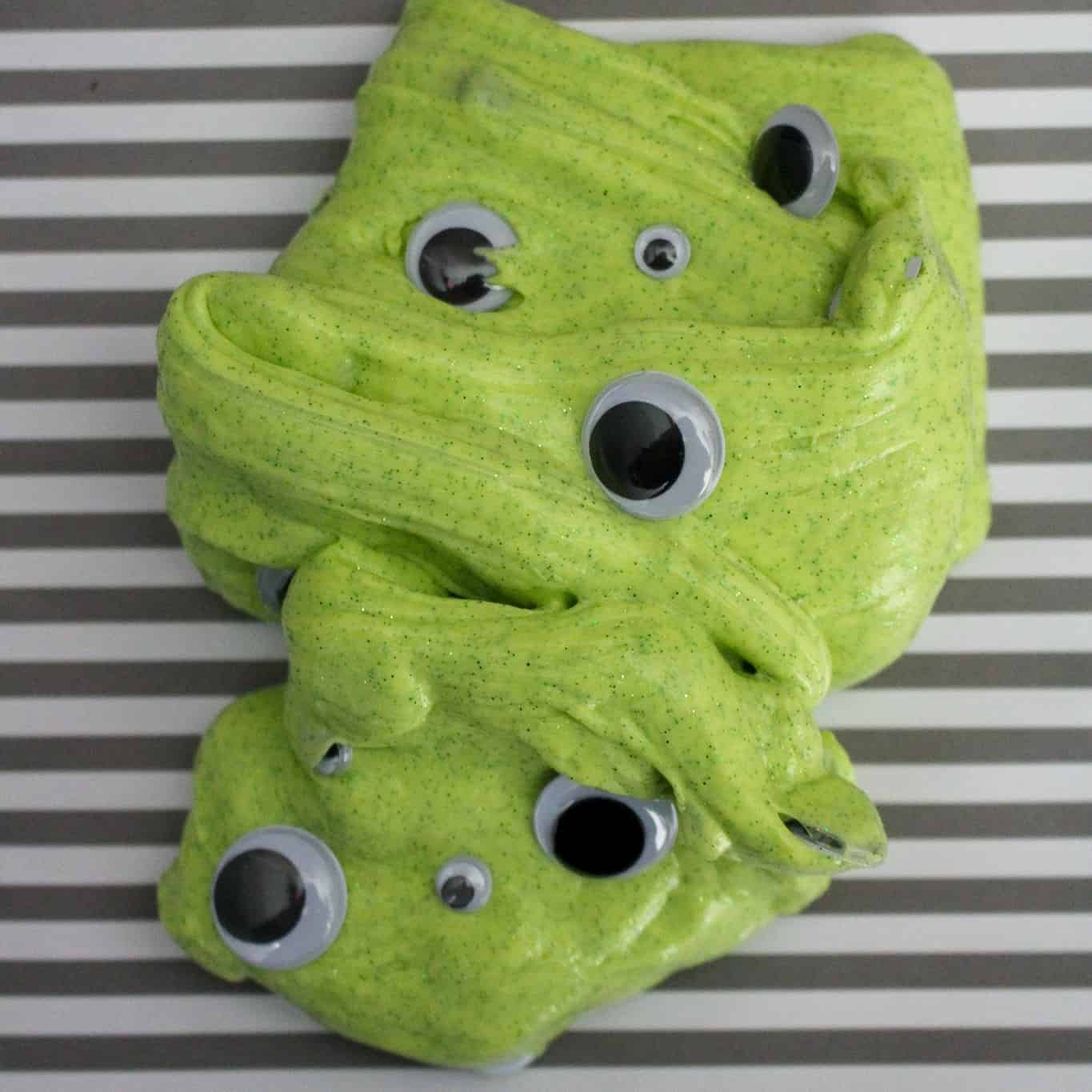 How to make googly eye slime