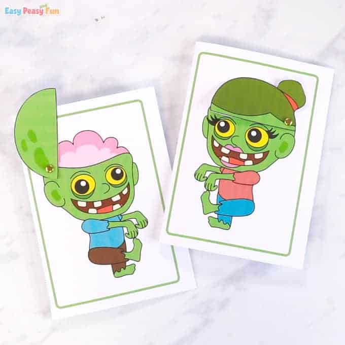 zombie craft for kids